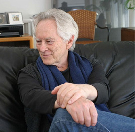 Michael McClure, photograph by Gloria Graham
